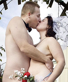 Radio station to host naked wedding stuff buff eh the edge radio station is looking for a couple to get married junglespirit Gallery