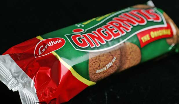 GINGERNUTS: Long a favourite of New Zealand consumers.