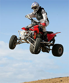 Riding high for High style motoring atv