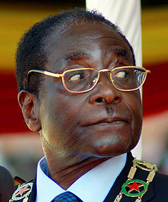 Robert Mugabe is one of visiting sociologist Chris Rojek's top celebrity sinners.