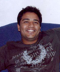 SRIKANTH RAYADURGAM: Was last seen at midday October 1 when leaving his Mt Albert home.