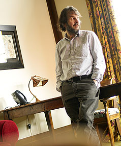 UNIVERSAL MAN: Peter Jackson, creator of  The Lovely Bones.