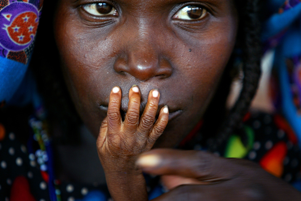 World Press Photo of the Year 2005 taken on August 1, 2005 by Reuters photographer Finbarr O'Reilly in Senegal.
