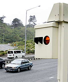 DRIVER BEWARE: The Ngauranga Gorge speed camera snapped 8000 speeding motorists in 2009   the highest in the country.