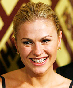 KEEP LEFT: Anna Paquin was more excited about passing her driving test than being nominated for a Golden Globe award.