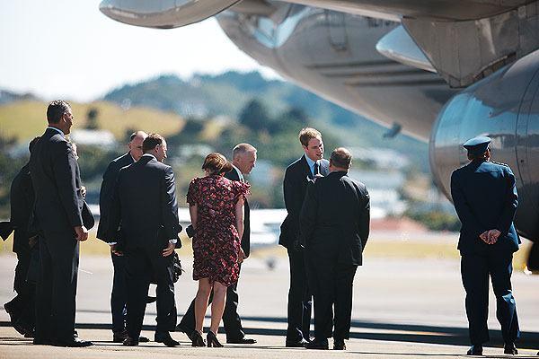 Prince William's visit to New Zealand