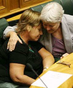Sue Bradford and Jeanette Fitzsimons