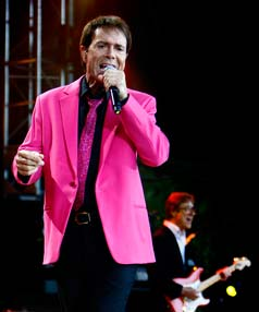 STILL GOT THE MOVES: Sir Cliff may be 69 but he shows why he is the Peter Pan of Pop.