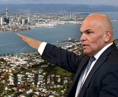 Weak and woolly: Not how  Rodney Hide is selling  the new Auckland Super City CCOs, but a  likely outcome of the government's  flabby plans.