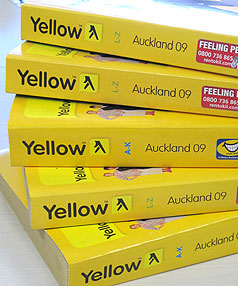 DISPUTED DATA: Yellow Pages Group has accused a rival of stealing its directories database and a court case is pending.