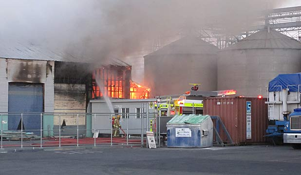 fire christchurch