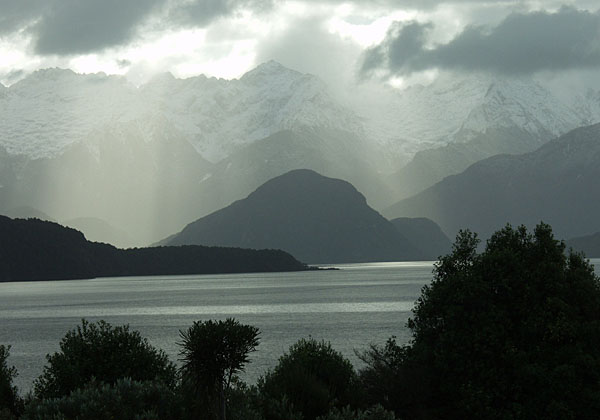 TRANQUIL: Late afternoon Manapouri.