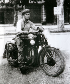George Jones in Italy during World War II