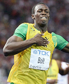 Modern men are wimps and many Australian aboriginals could have outrun world record holder Usain Bolt in modern conditions, an Australian anthropologist says.
