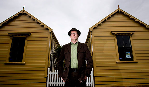 HIGH HOPES: Jeff Montgomery plans to turn his two Tonks Grove cottages into serviced apartments, which he says will attract overseas visitors.