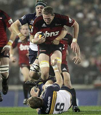 Crusaders v Brumbies
