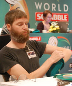 Word champion: Nigel Richards did not start playing Scrabble until the age of 28, and became the competitor others are measured against.
