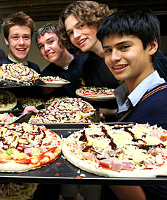 Marlborough Boys' College Leos are putting on a free dinner