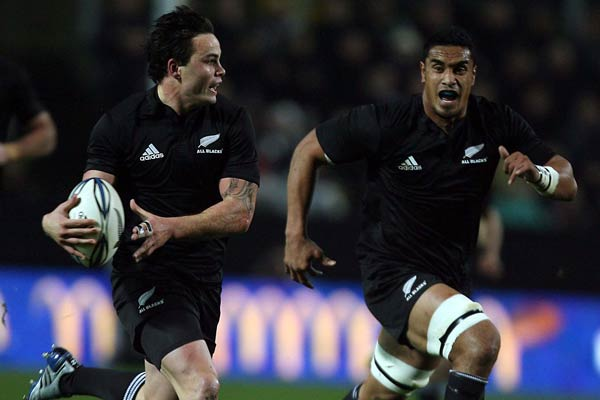 All Blacks wing Zac Guildford