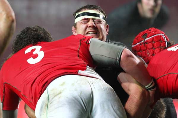 All Blacks prop Tony Woodcock