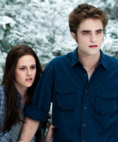 Kristen Stewart and Robert Pattison