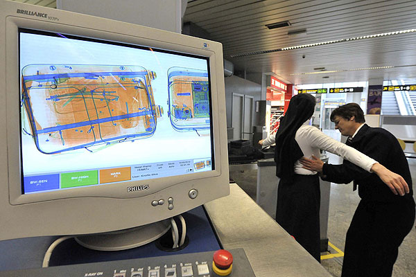 Online X-rays to cut airport queues