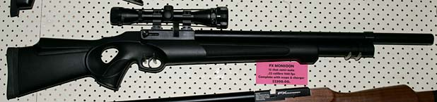 FX Monsoon air rifle