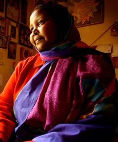 REFUGEE: Asha Ali Abdille in 2004.