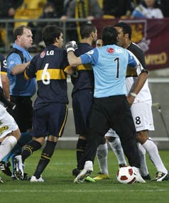 Boca Juniors vs Phoenix