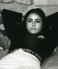 Murdered prostitute Leah Stephens, whose remains were found in the Woodhill Forest in 1992.
