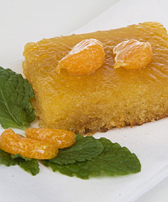 CAPTIVATING SMELLS: This Lemon syrup cake is simply delicious.