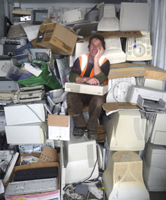 E-JUNK: A long-term method of collecting and reusing or recycling e-waste is needed.