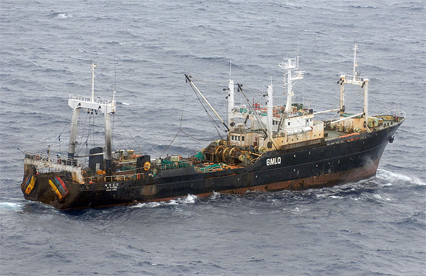 A supplied photo of the Oyang 70 which has sunk in the Southern Ocean 400 nautical miles from Dunedin.