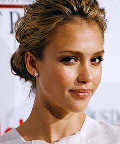 TOP MARKS: Jessica Alba has what men want, mathematically speaking.