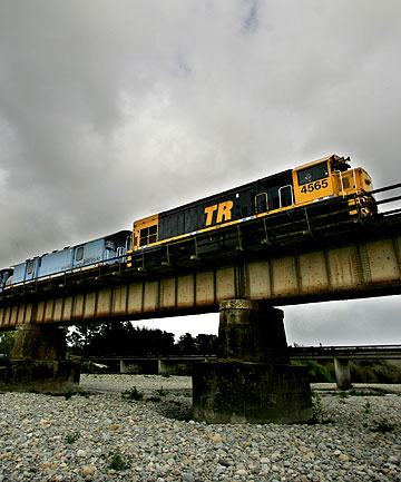 ON A ROLL: KiwiRail's three long-distance services have shown an 11 per cent increase in passenger numbers – or 34,000 more travellers – in the past year.