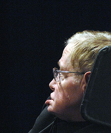 BREAK FROM OLD VIEWS: Stephen Hawking says a new series of theories made a creator of the universe redundant.