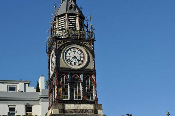 Christchurch earthquake - clock tower