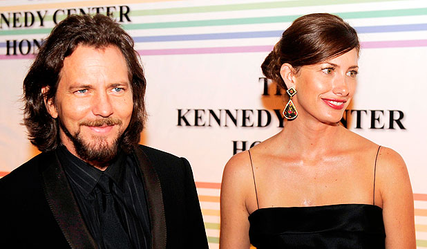 Eddie Vedder with beautiful, Wife Jill McCormick