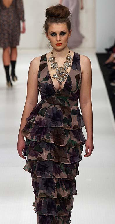 Fashion from the Sera Lilly show at NZ Fashion Week.