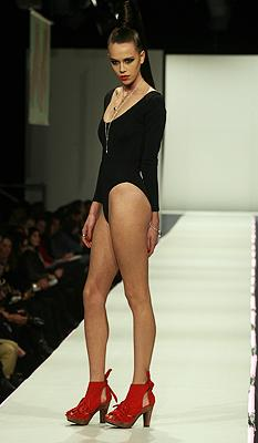 Shoe designer Kathryn Wilson's show at New Zealand Fashion Week.