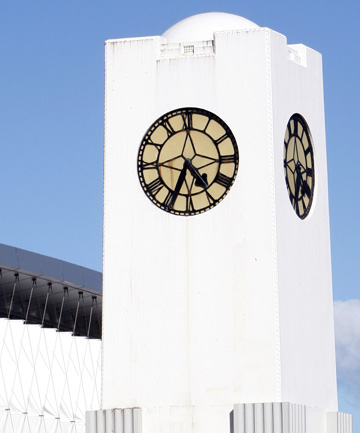 The New Brighton clock tower