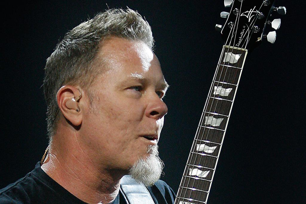 A MAN AND HIS GUITAR: Metallica perform in Christchurch.