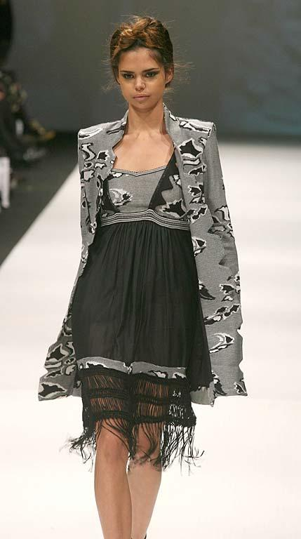 Fashion from the Sabatini show at NZ Fashion Week.