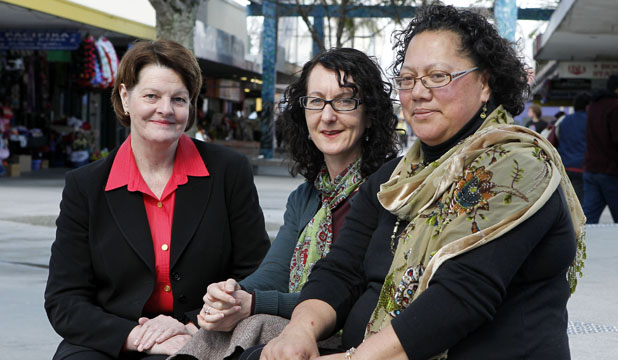 HEALTHY CHANGE: Otara Health is changing from an incorporated society to a charitable trust. From left: New board chairwoman Diane Maloney, chief executive Louise McCarthy and community advisory group chairwoman Nita Ropata Riki.