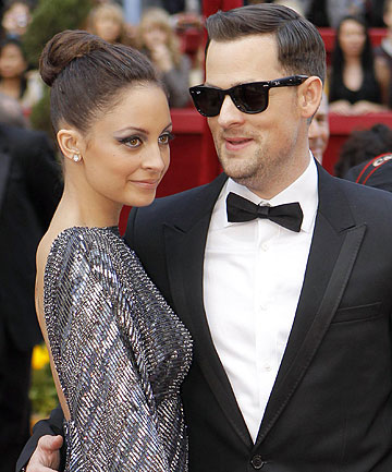 WEDDING BELLS: Nicole Richie has sparked speculation she will marry Joel Madden this weekend.