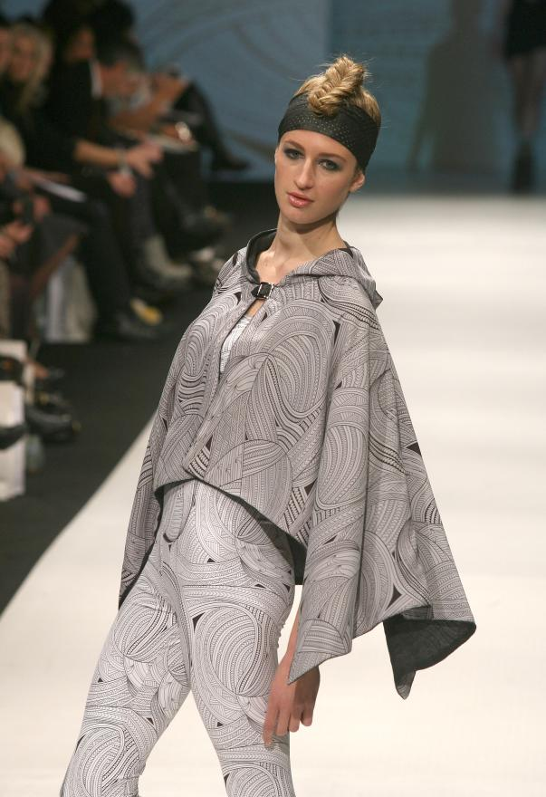 Fashion from designer Whiri on day 3 of the NZ Fashion Week.