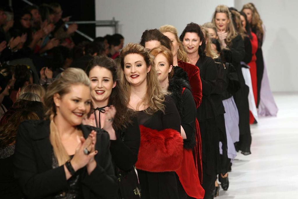 Fashion from designer The Carpenters Daughter on day 3 of the NZ Fashion Week