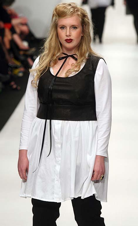 Fashion from designer The Carpenters Daughter on day 3 of the NZ Fashion Week.