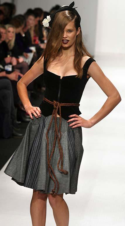 Fashion from the Annah Stretton show at NZ Fashion Week.