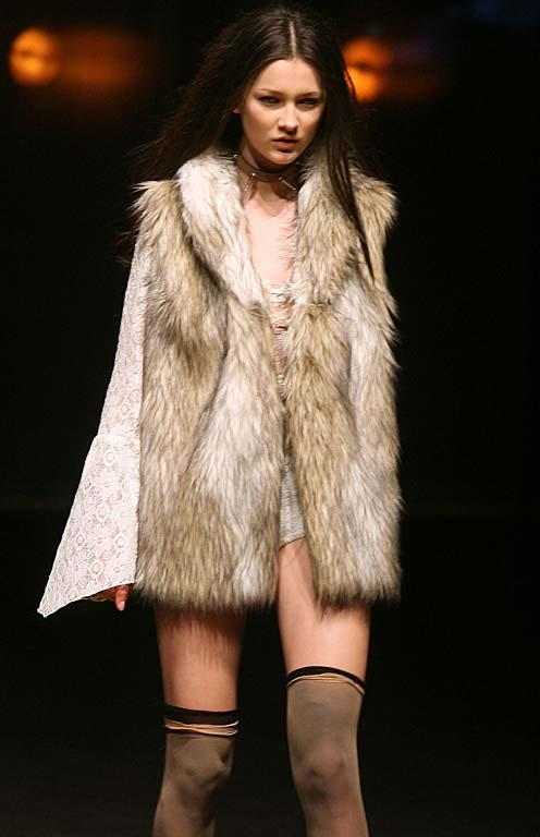 Fashion from The Stolen Girlfriends Club at NZ Fashion Week.